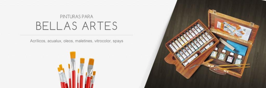Pinturas para Bellas Artes