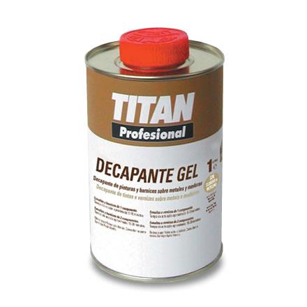 Decapante gel quitapinturas super eficiente titan for Decapante para madera