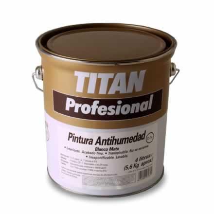 Pintura antihumedad D14 Titan Profesional para humedades de las paredes