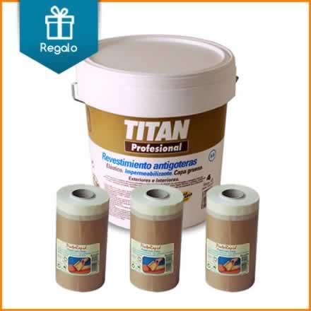 Revestimiento antigoteras A8 Titan + 3 cintas de carrocero