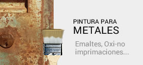 Pinturas para metal