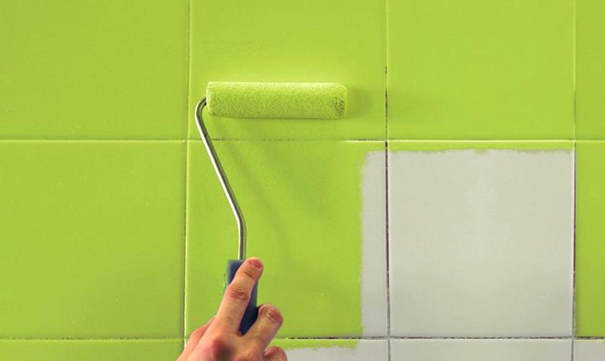Como pintar los azulejos pinturas el artista - Como pintar los azulejos del cuarto de bano ...