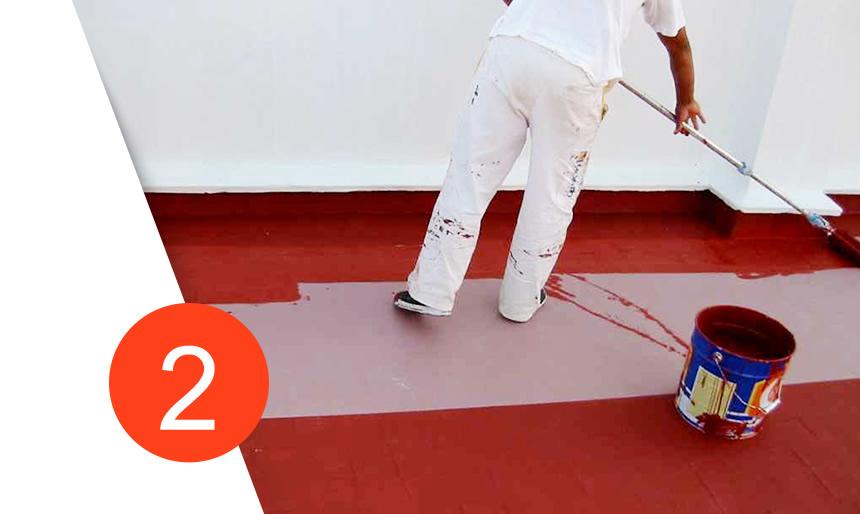 Pin pintura goteras manchas colores brillo fondo de imagen for Impermeabilizar terraza transitable