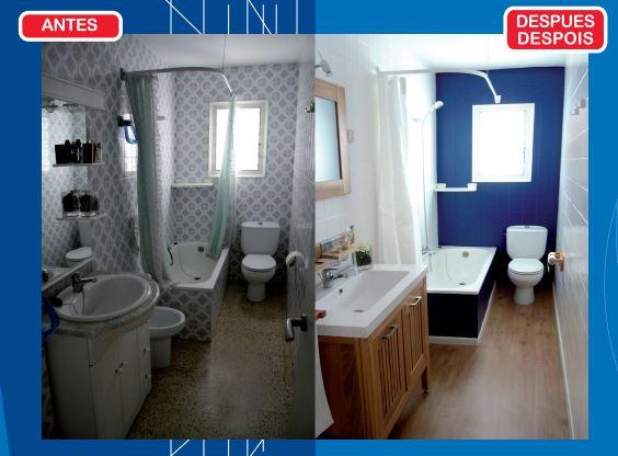 pintura para azulejos antes y despues