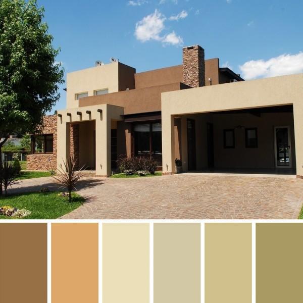 Colores Naturales para pintar Fachadas