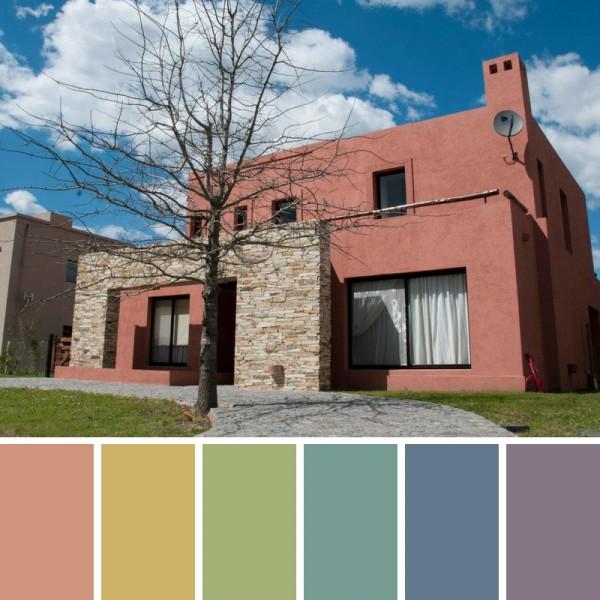 Colores de pintrua para fachadas y exteriores pinturas - Combinacion de colores para pintar interiores ...