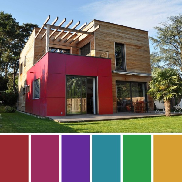 Colores de pintrua para fachadas y exteriores pinturas for Colores modernos para exteriores