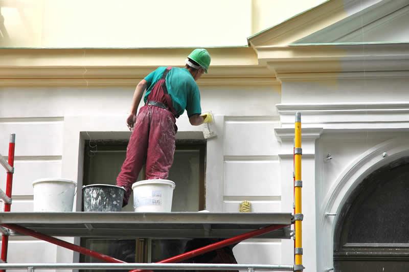 Inspiraci n y color para la decoraci n interior pinturas for Pintura para pared exterior