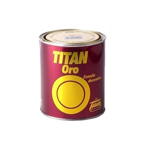 Esmalte Titan oro purpurina 1