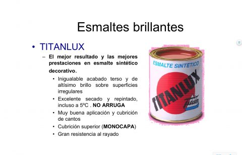 Titanlux esmalte sintético brillante 4