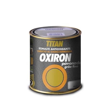 Esmalte antioxidante titan oxir n pavonado grano fino directo al xido pinturas el artista - Titan antihumedad ...
