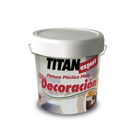 Titan export pintura plástica lavable 1