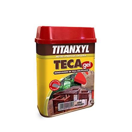 Aceite de teca en gel titanxyl pinturas el artista - Aceite de teca para madera ...