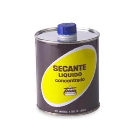 Secante l quido concentrado titan 750 pinturas el artista - Pulimento liquido titanlux ...