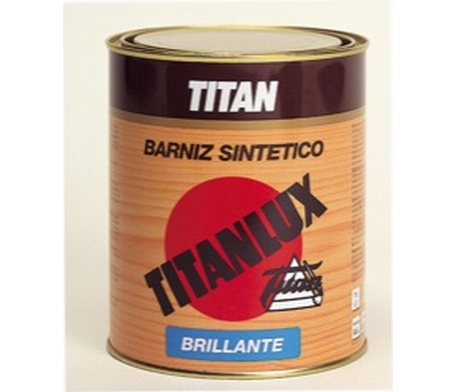 Barniz sintético Titanlux tinte brillante 1