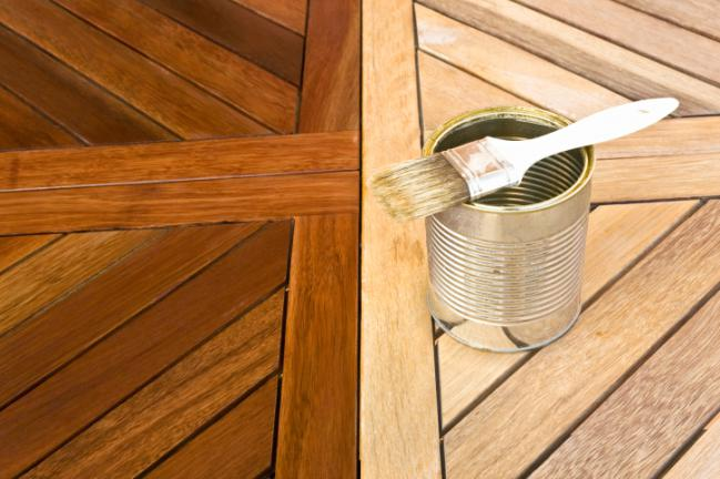 Painting Wood Treated With Danish Oil