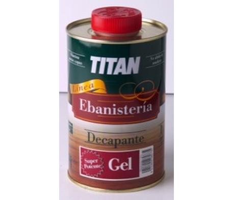 Decapante gel superpotente titan pinturas el artista for Decapante para madera