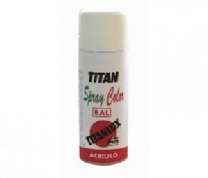 Esmalte acr lico color ral en spray titan secado r pido - Esmalte para baneras ...