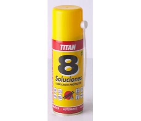 Titan 8 soluciones lubricante penetrante antioxidante spray 1