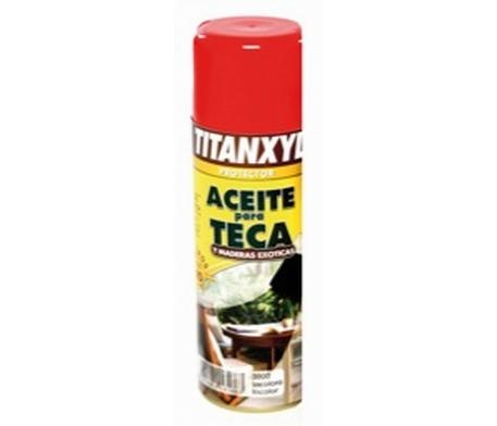 Aceite para teca Titanxyl en spray 1