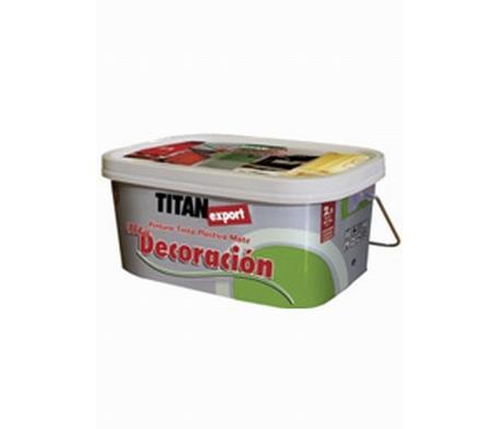 Titan export decoración. Pintura plástica 1