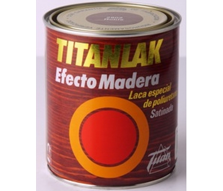 Titanlak efecto madera. Esmalte imita las vetas de la madera
