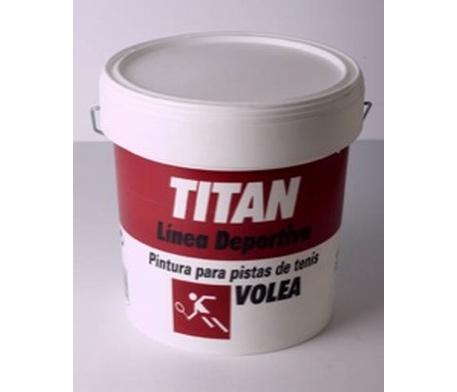 Titan volea pintura para pistas de tenis pinturas el artista - Titan antihumedad ...