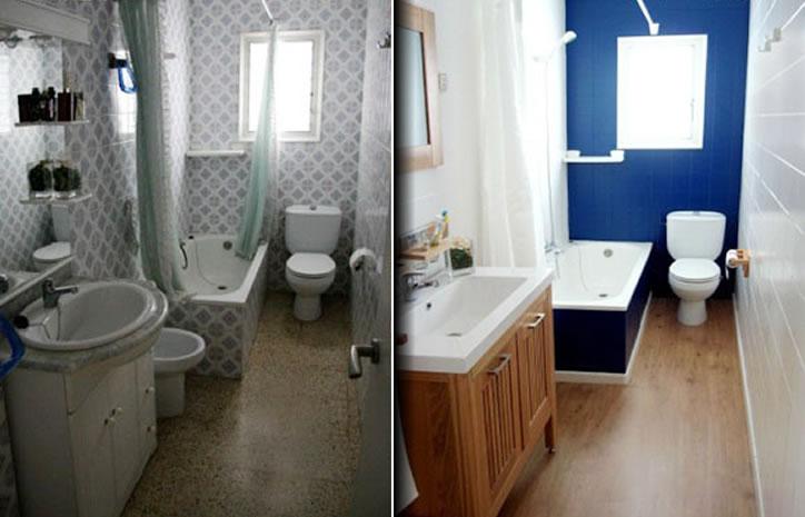 Como pintar azulejos de baños y cocinas