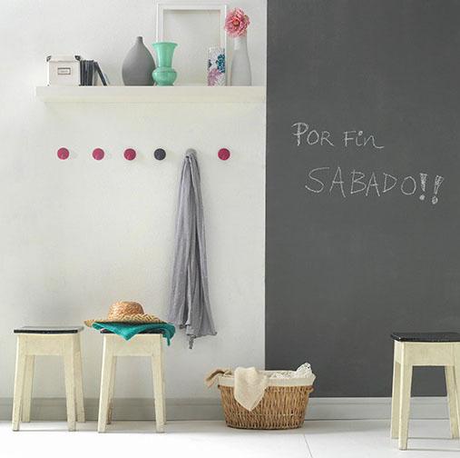 Titan pizarras pintura para pintar pizarras paredes con for Pintura especial para cocinas