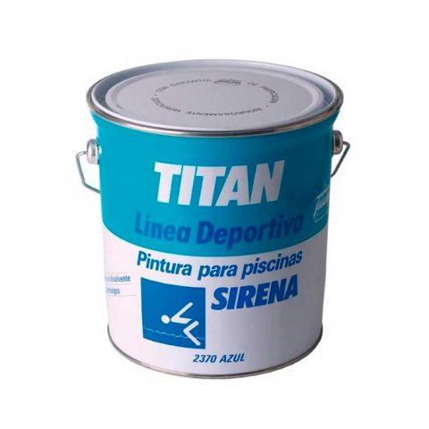 Titan sirena Pinturas de Piscinas 1