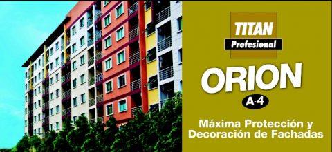 Orion fachadas plastico A4 Titan profesional 6
