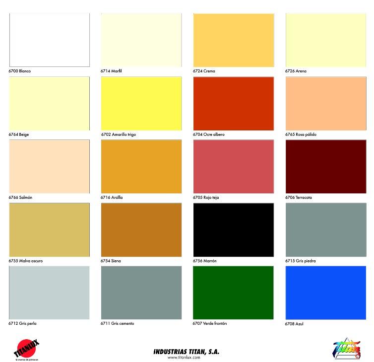 Orion fachadas plastico a4 impermeable y transpirable - Pinturas para pared colores ...