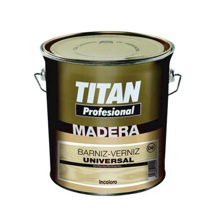 Barniz universal Madera D6 Titan Profesional. Interiror exteriror e incoloro 1