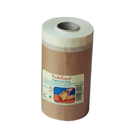 papel con cinta para forrar y tapar marcos etcu