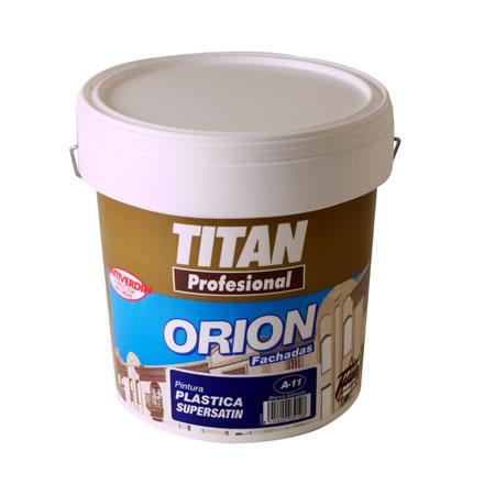 Pintura plastica supersatin a11 alto brillo titan profesional pinturas el artista - Titan antihumedad ...