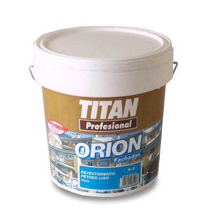 Orion fachadas revestimiento p treo liso a9 titan profesional pinturas el artista - Titan antihumedad ...