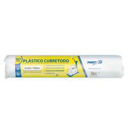 Bobina plástico cubretodo 100 M2 1