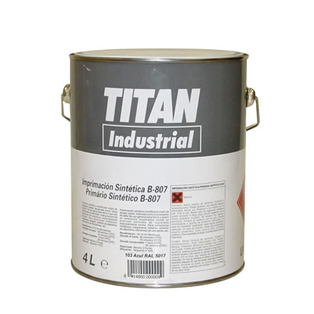 Imprimacion sintetica anticorrosiva 807 Titan industrial 1
