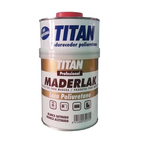 Laca dos componentes maderlak blanca satinada titan - Pintura satinada blanca ...