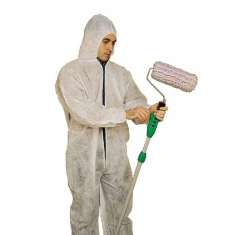 Mono de proteción con capucha y cremallera xl 1