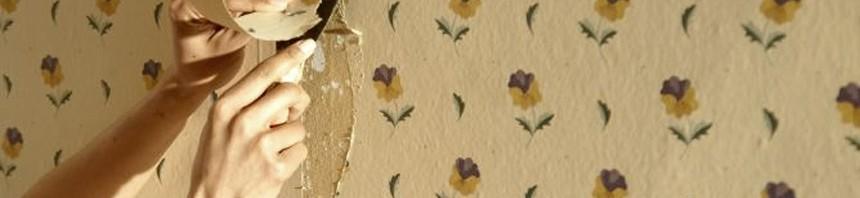 Eliminar y quitar papel pintado de la pared quitar vinilos de la pared pinturas el artista - Como quitar pintura de la pared ...