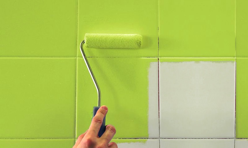 Como pintar los azulejos pinturas el artista for Como pintar azulejos cocina