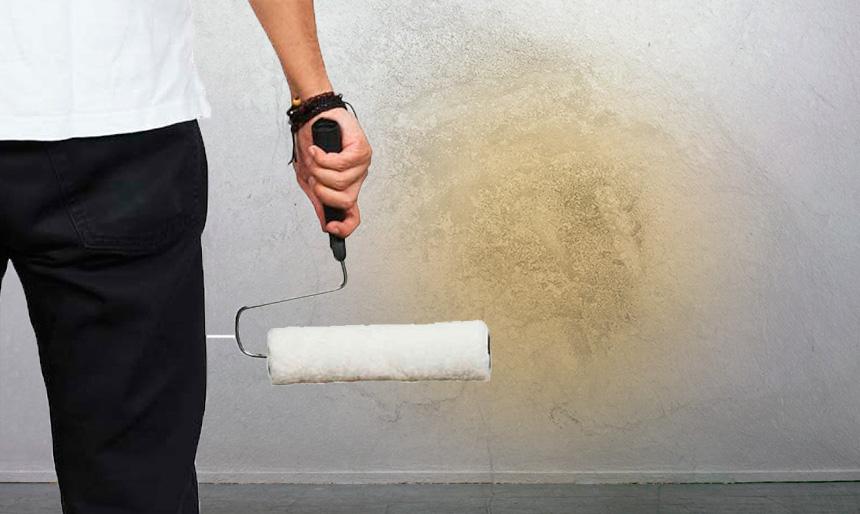 C mo eliminar manchas de grasa humos tinta xido en - Eliminar olor tabaco paredes ...