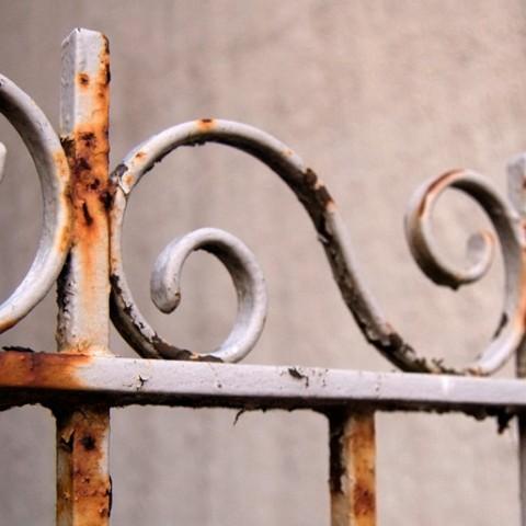 Preparaci n de un hierro antes de pintarlo pinturas el - Como limpiar metal oxidado ...