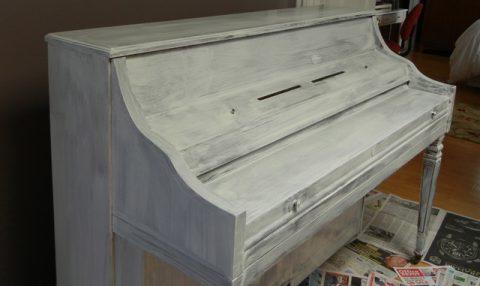 Acabados Chalk Paint en Muebles