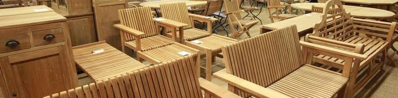 muebles madera jardin