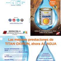 Esmalte al Agua de Titan. Interior y Exterior