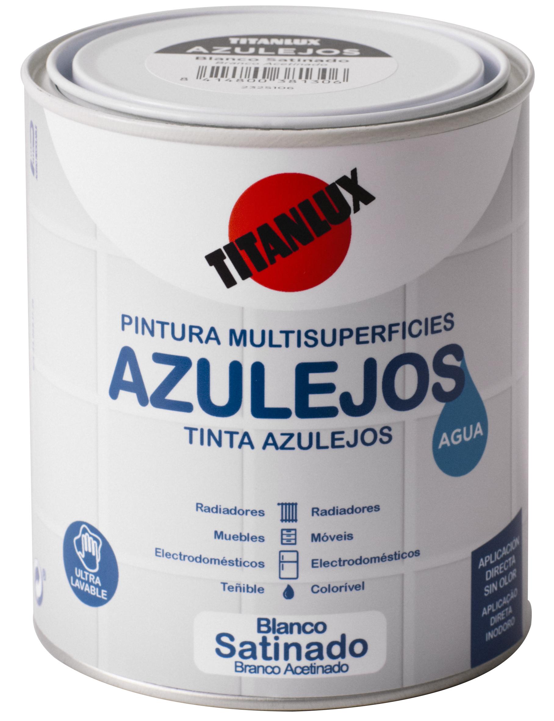 Esmalte azulejos al agua ba os y cocinas titanlux - Titan banos y cocinas ...