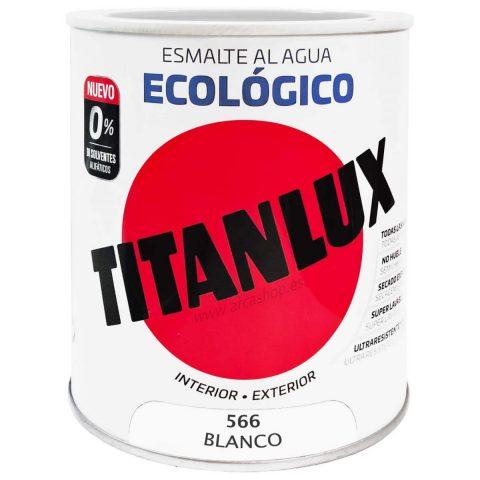 ESMALTE ECOLÓGICO AL AGUA TITANLUX 1