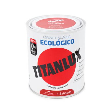 ESMALTE ECOLÓGICO AL AGUA TITANLUX MATE 1